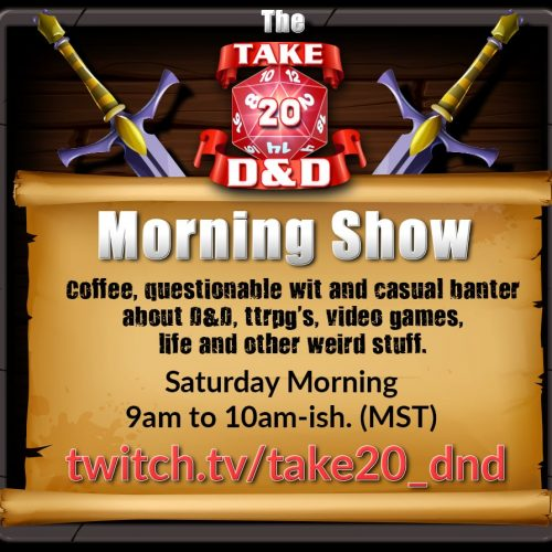 Take 20 Morning Show Announcement