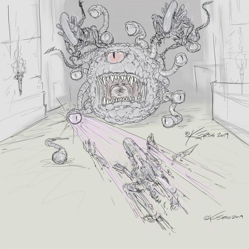 Take20 D&D - Creator Crucible - Beholder versus Aliens