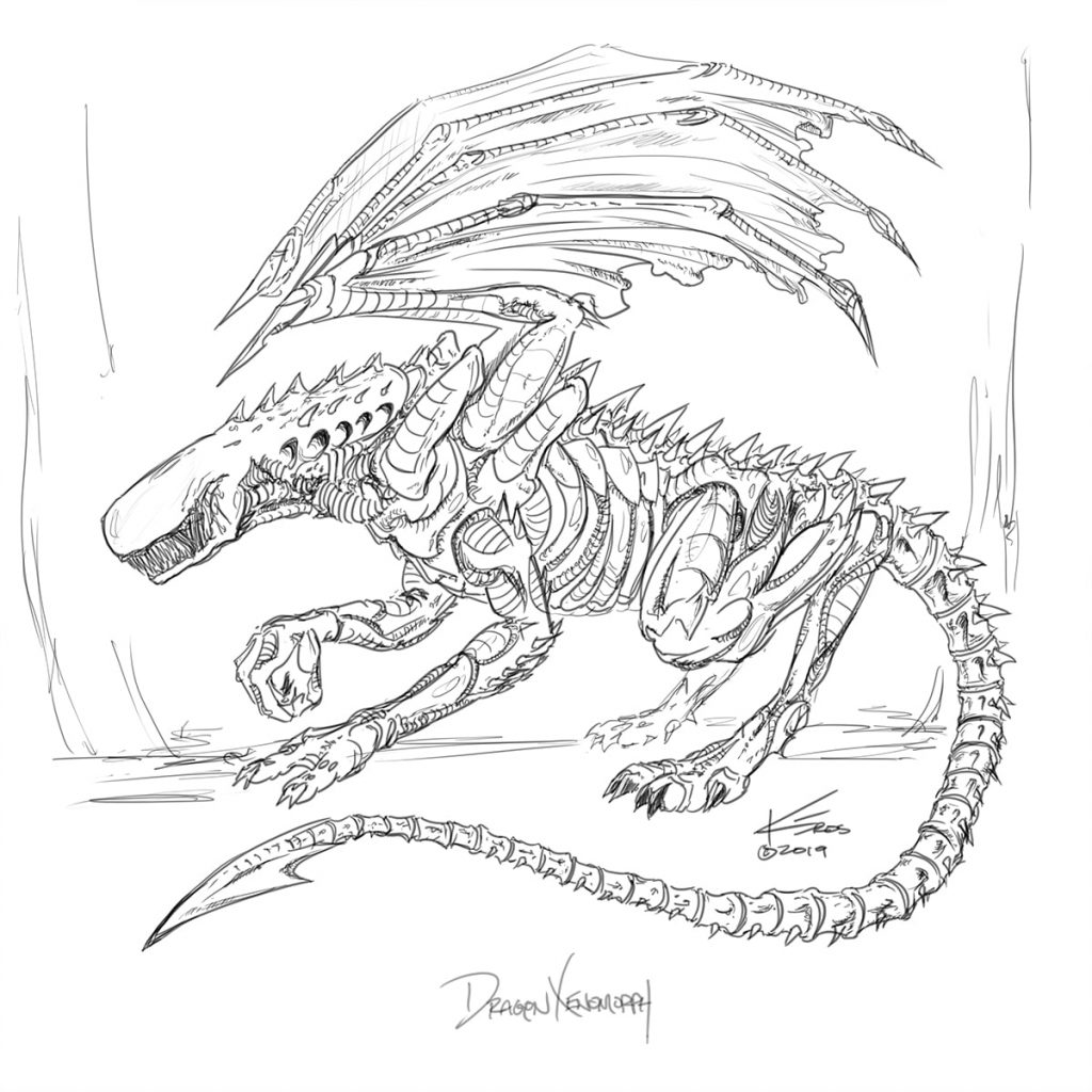 Take20 D&D - Creator Crucible - Xenomorph Dragon