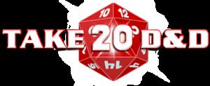 Take20 D&D Retina Logo