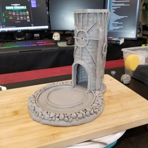 Gothic Horror Dice Tower - Part 2