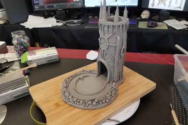 Gothic Horror Dice Tower - Part 1