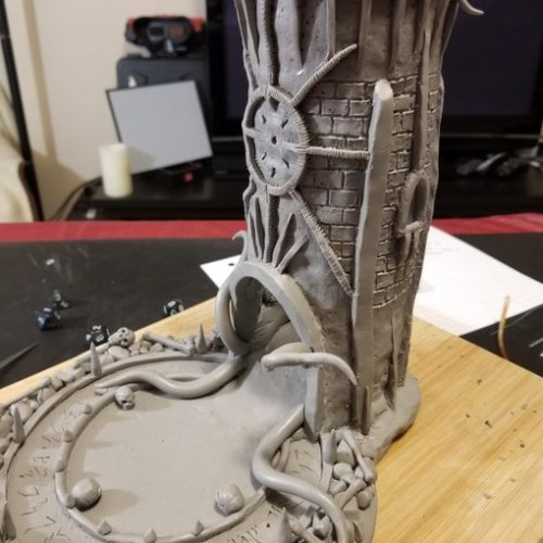 Gothic Horror Dice Tower