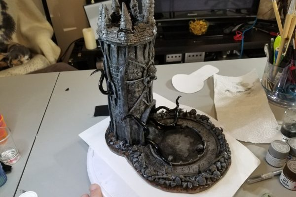Painting the Dice Tower