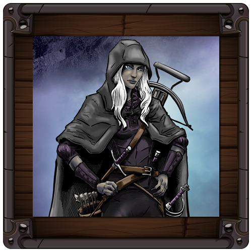 Chronicles of Chryalis - Calyndra the Dark Elf Arcane Trickster