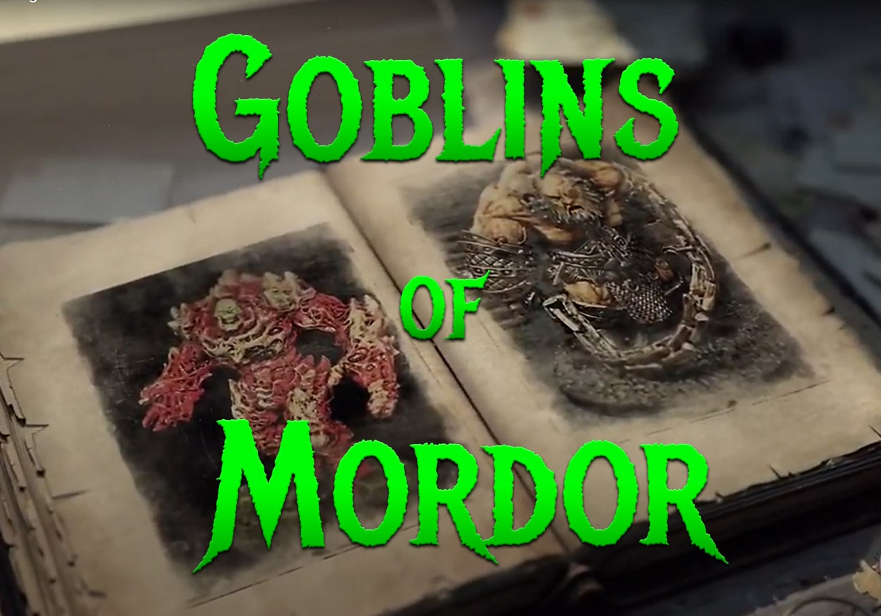 Goblins of Mordor - Michael Mordor Paints Miniatures